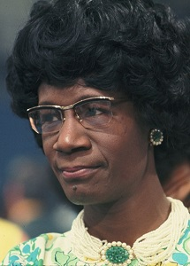 Support for the Shirley Chisholm Project