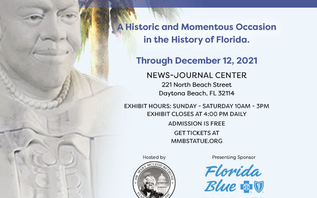 Historic Display of Dr. Mary McLeod Bethune Statue in Florida Prior to US Capitol Placement