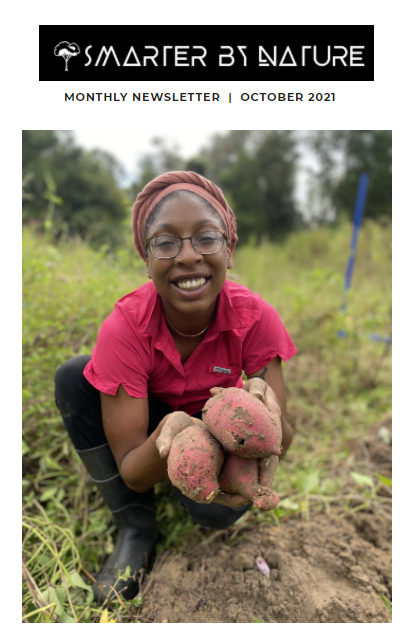 Smarter By Nature October 2021 Monthly Newsletter | FALL FARM TOUR!